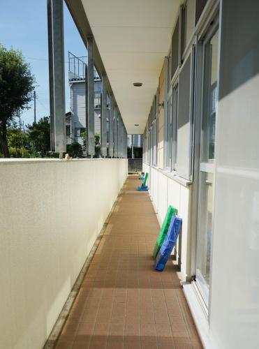 増築園舎外廊下